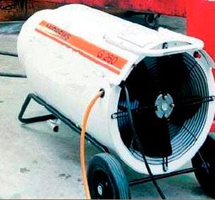 Desherbado y calefacción industrial