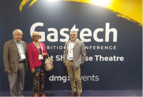 GD Aparatos visita Gastech
