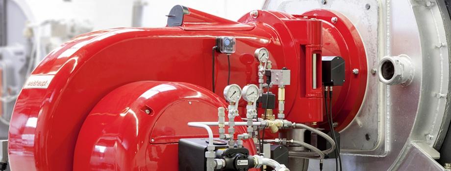 Tipos de quemadores de gas en calderas industriales