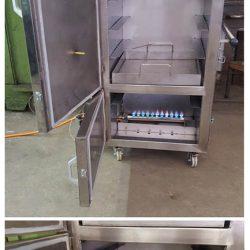 cremador instal·lat